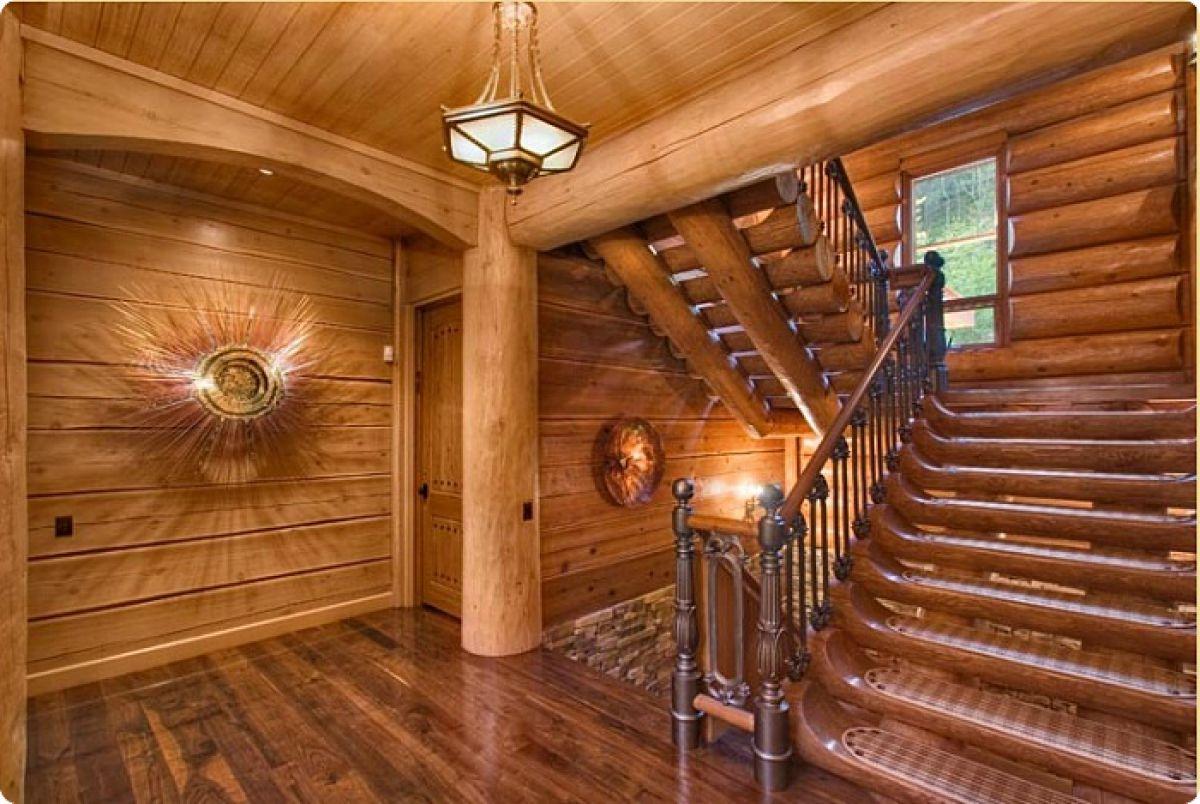 Внутренняя отделка деревянного дома 7269