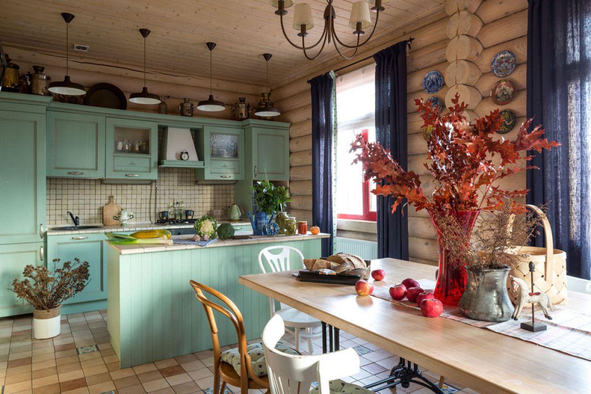 Внутренняя отделка деревянного дома 7270