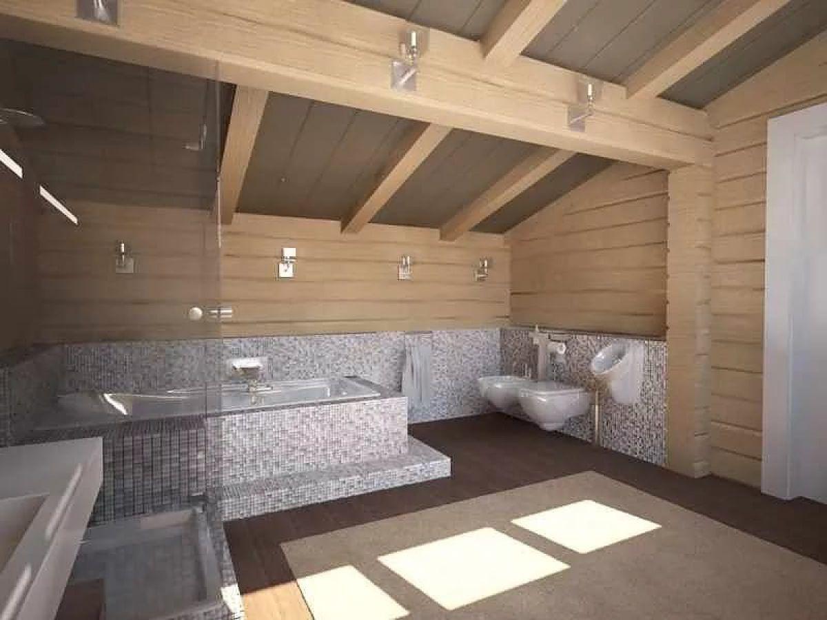 Внутренняя отделка деревянного дома 7271