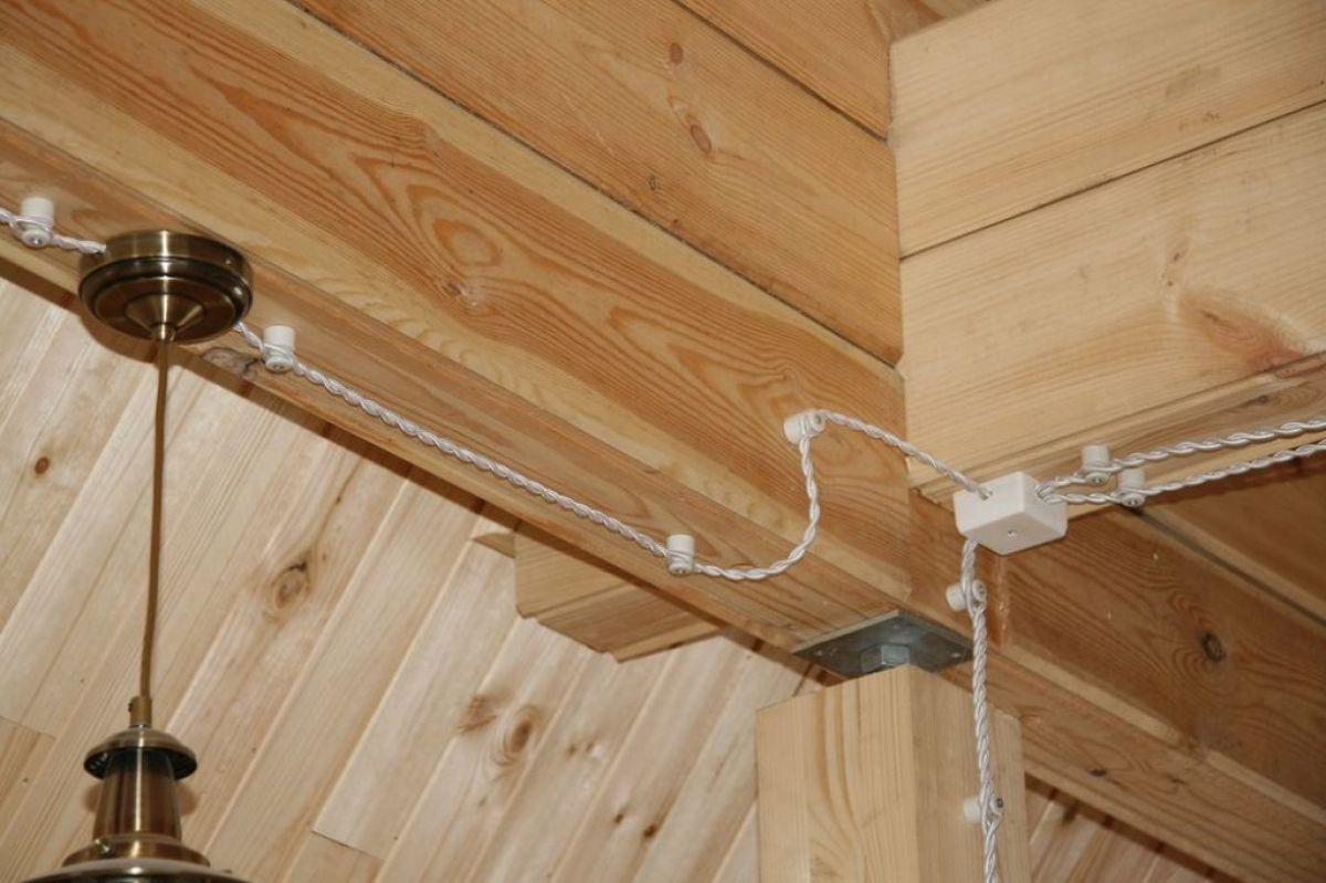 Внутренняя отделка деревянного дома 7272