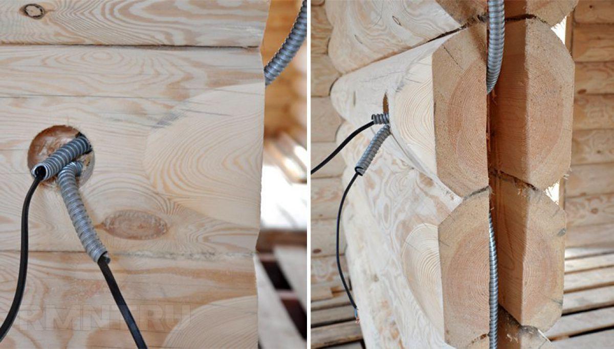 Внутренняя отделка деревянного дома 7273