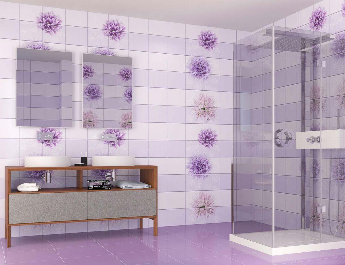 Отделка ванной пластиковыми панелями 7292