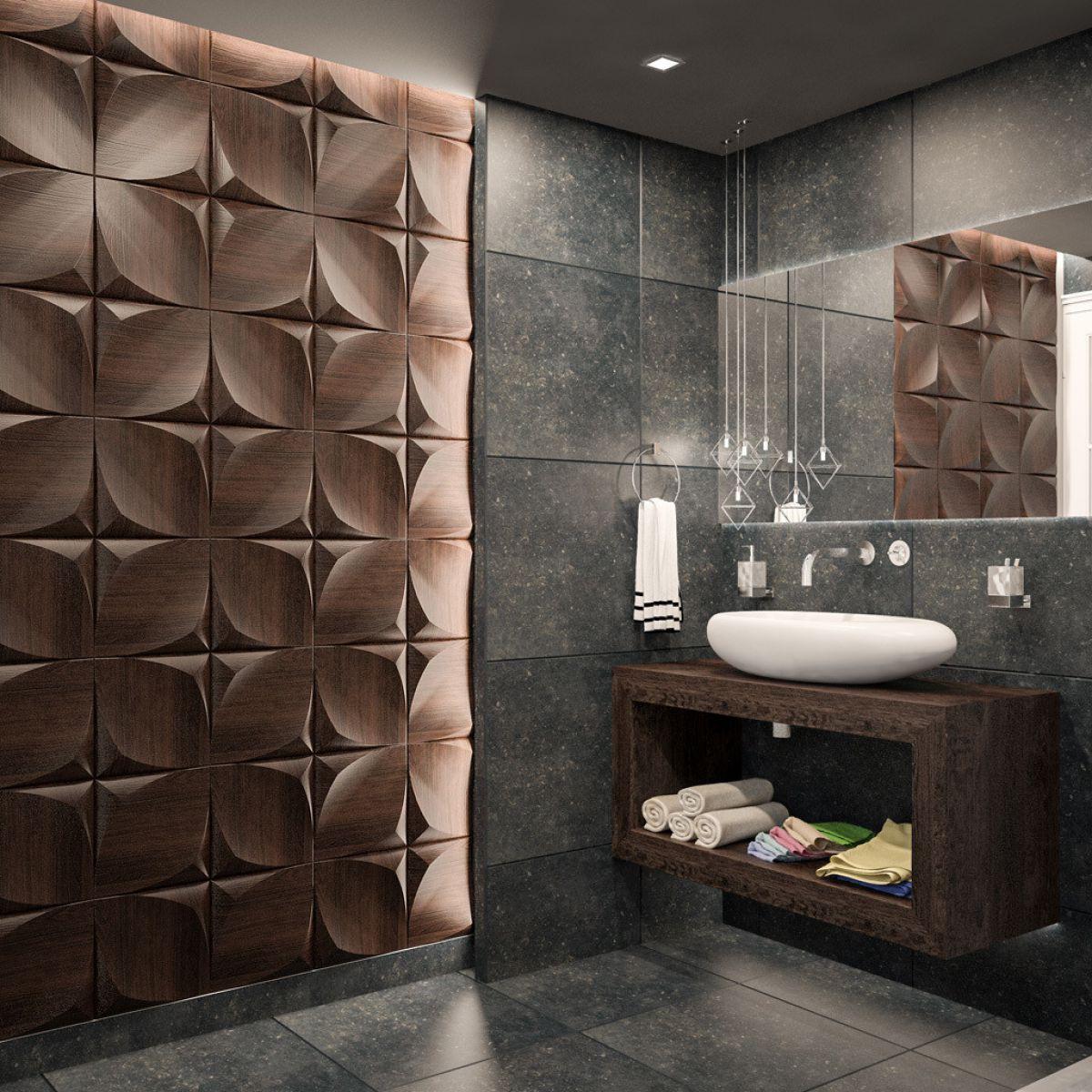 Отделка ванной пластиковыми панелями 7294
