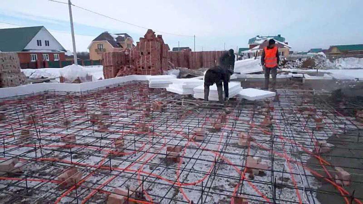Зимний бетон 7355