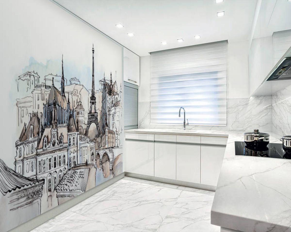 Фреска на кухне 7366