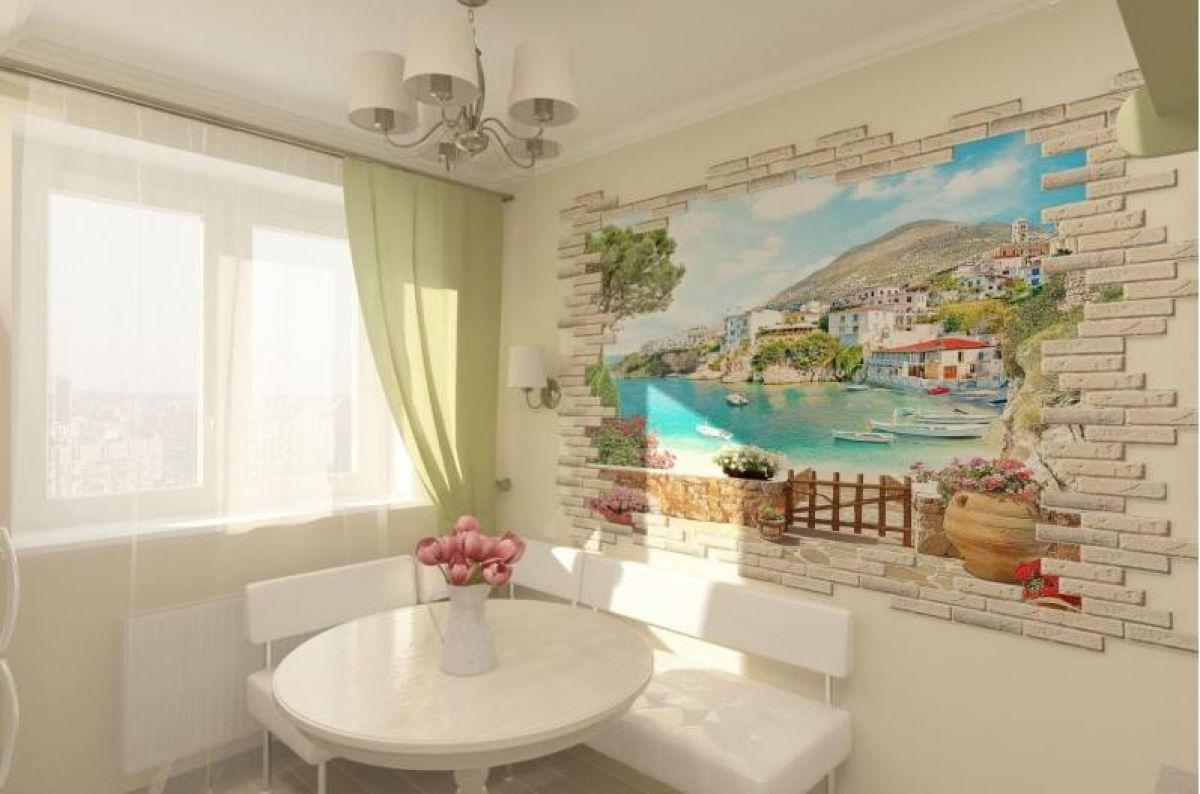 Фреска на кухне 7368