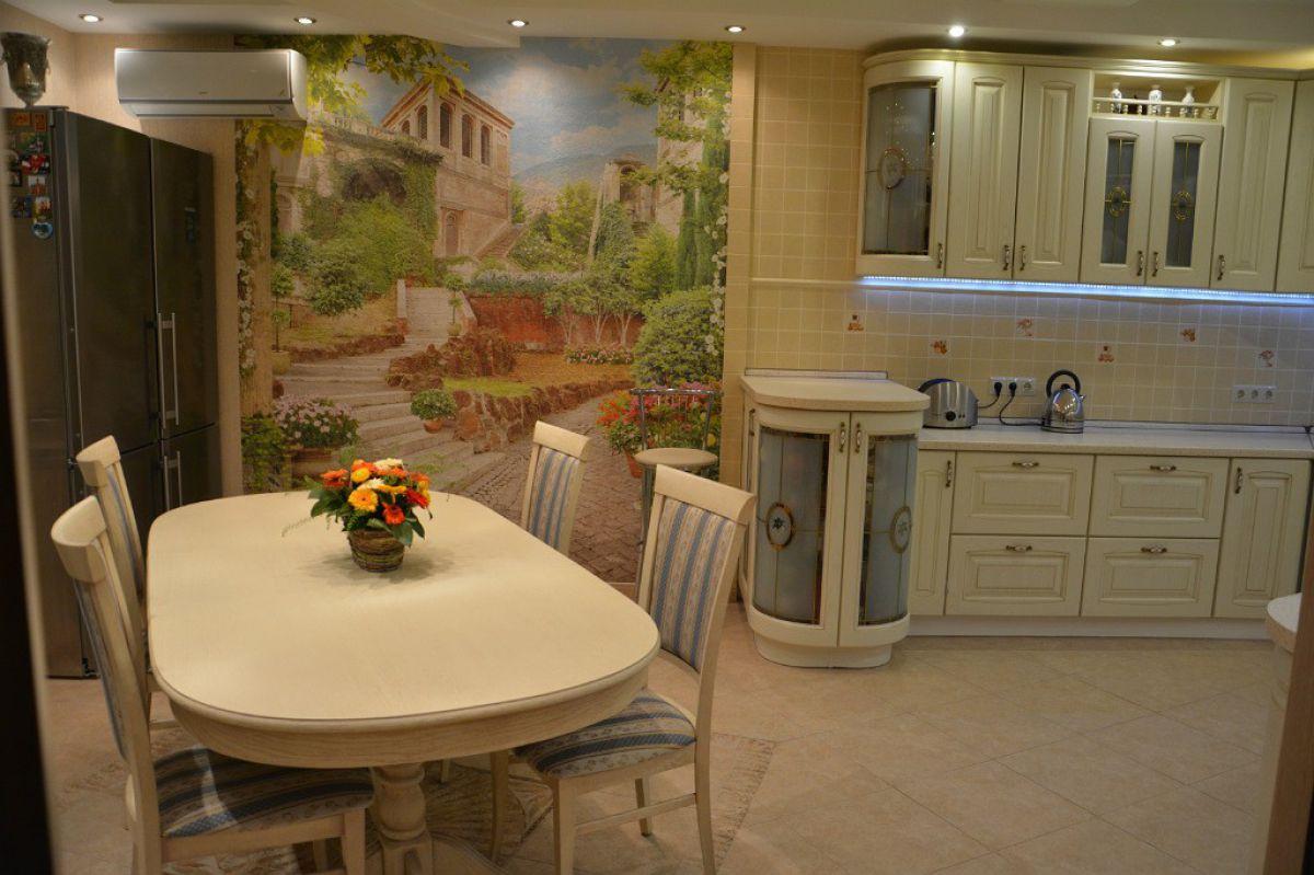 Фреска на кухне 7370