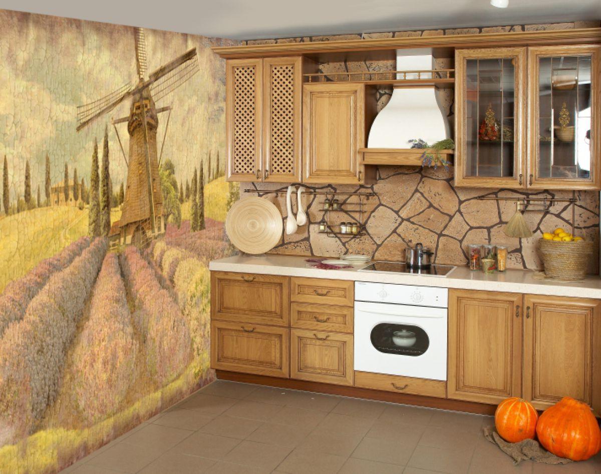 Фреска на кухне 7374