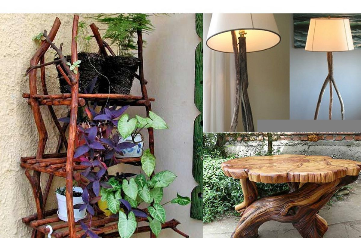 Декор из дерева 7483