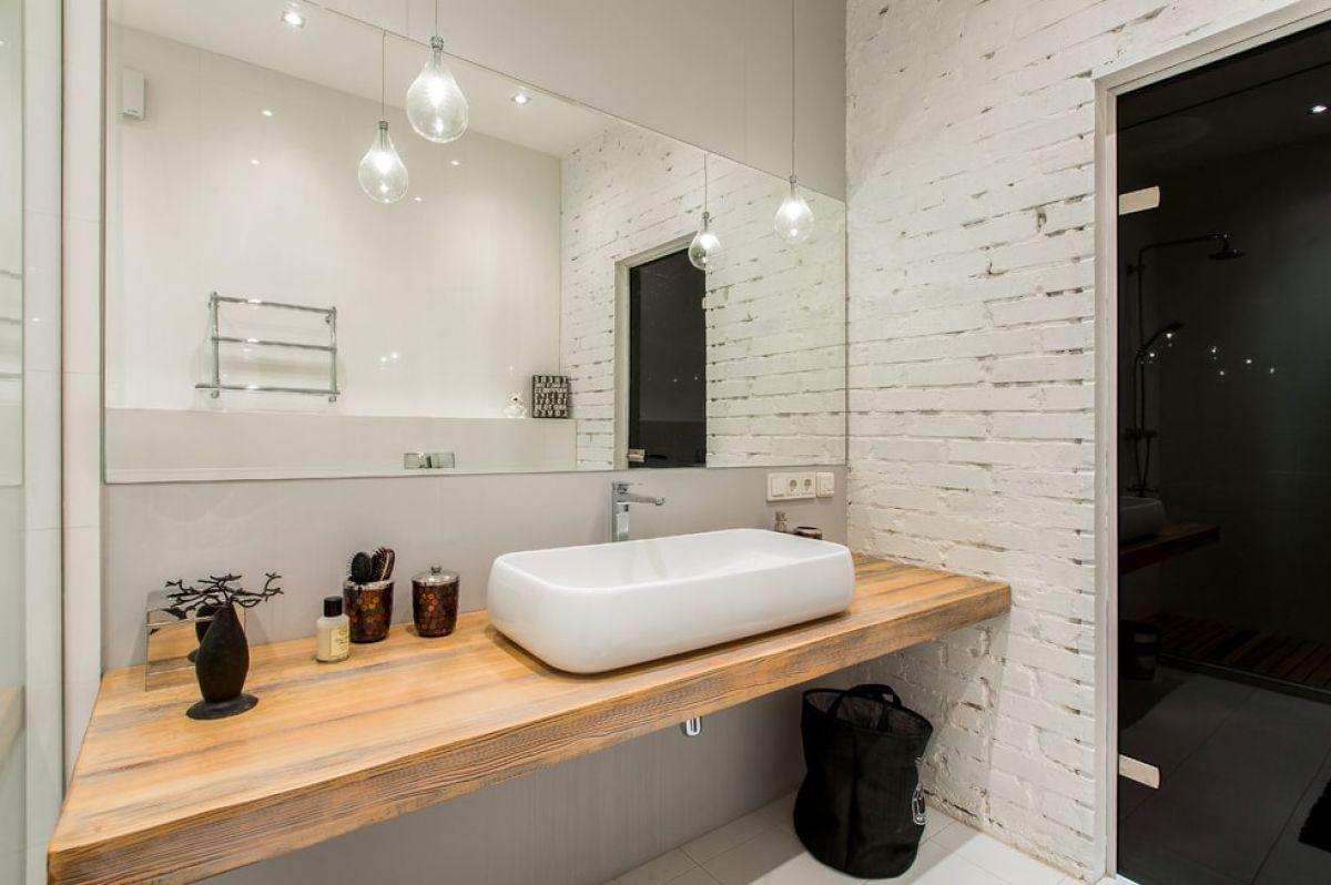 Ванная в стиле лофт 7592