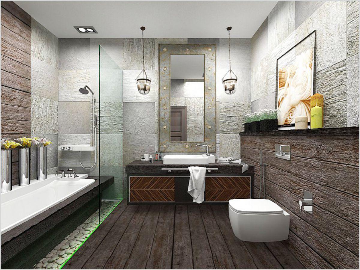 Ванная в стиле лофт 7593
