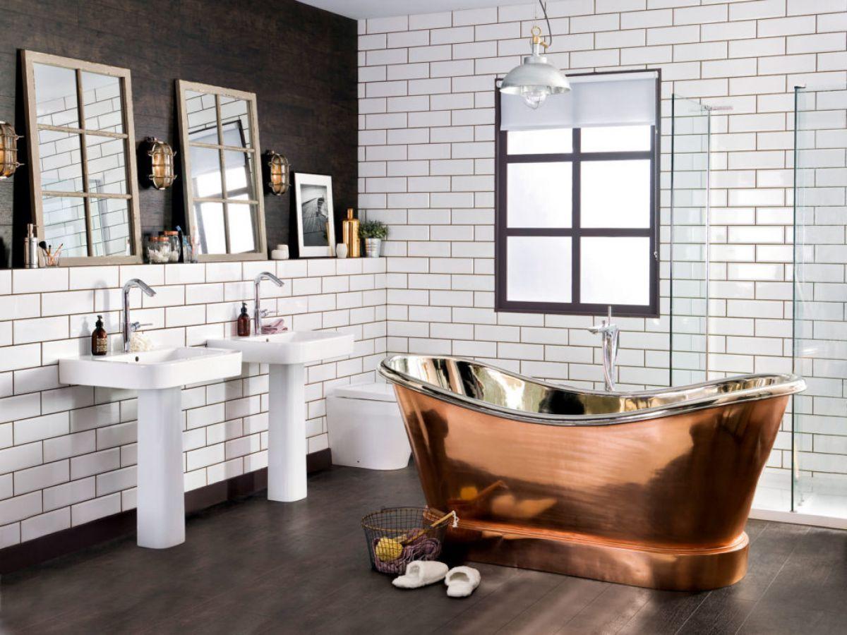 Ванная в стиле лофт 7594