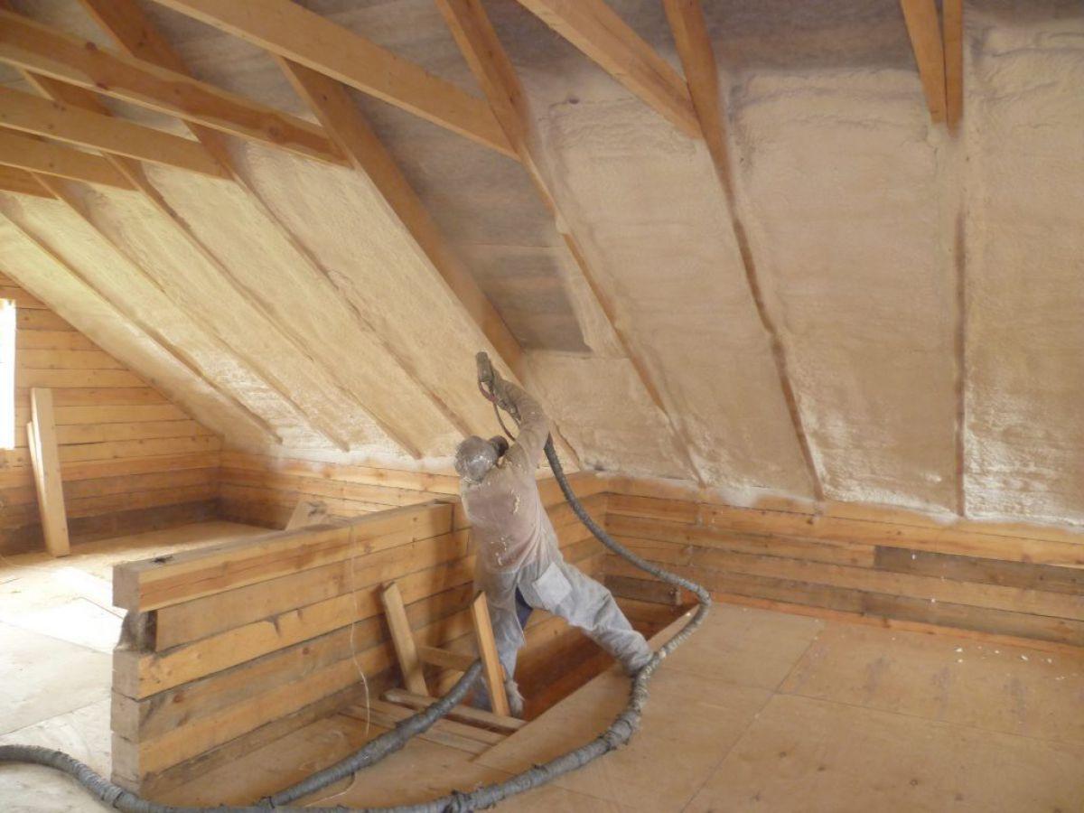 Утепление крыши изнутри 7598