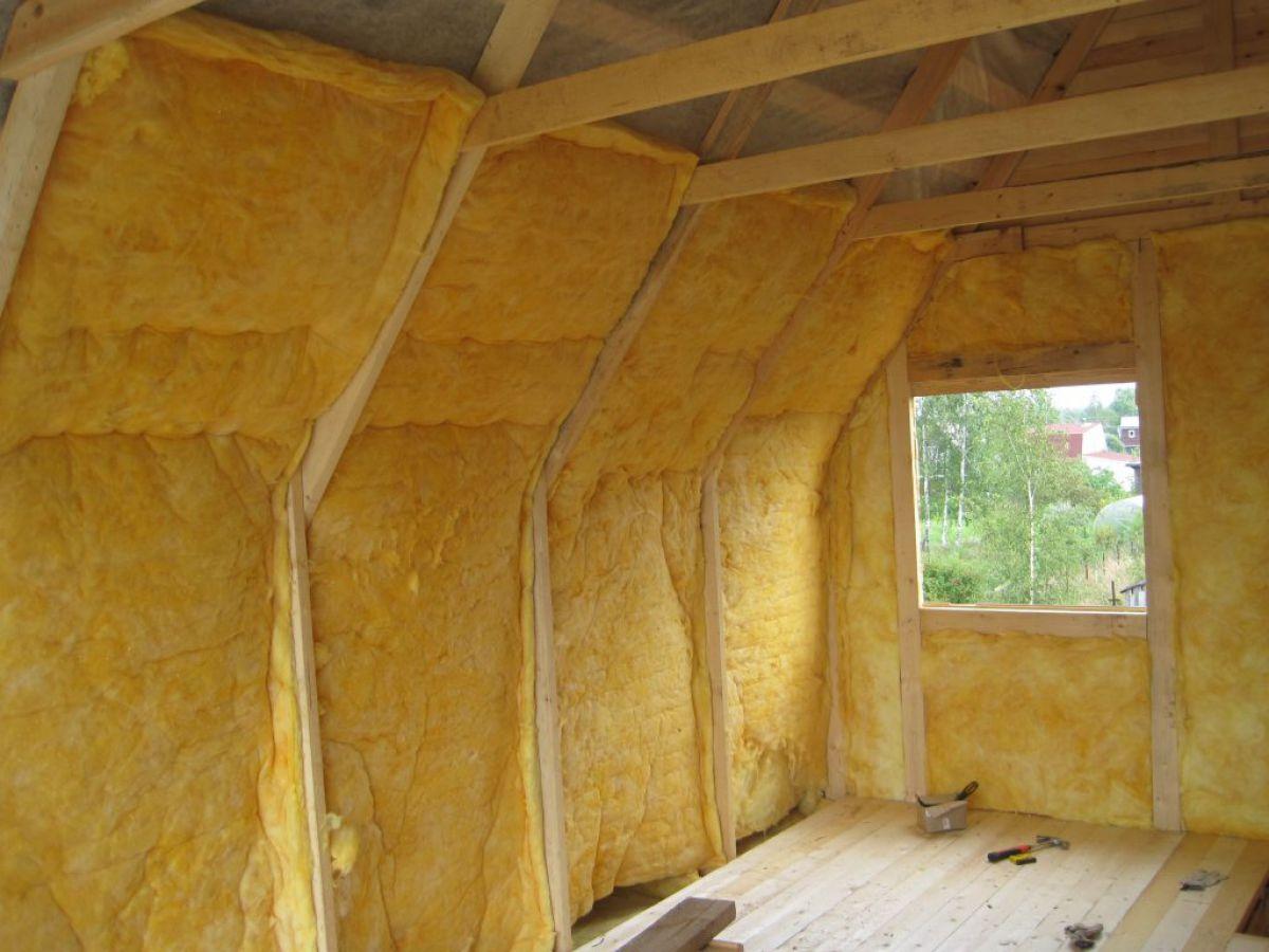 Утепление крыши изнутри 7604