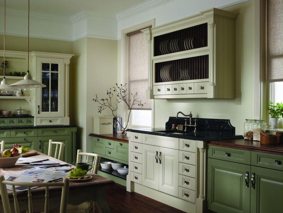 Зеленая кухня 7773