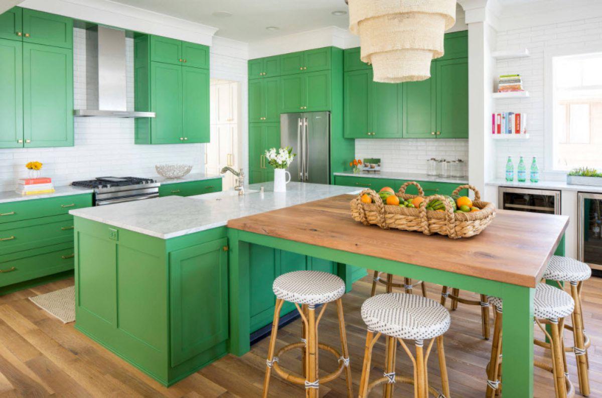 Зеленая кухня 7775