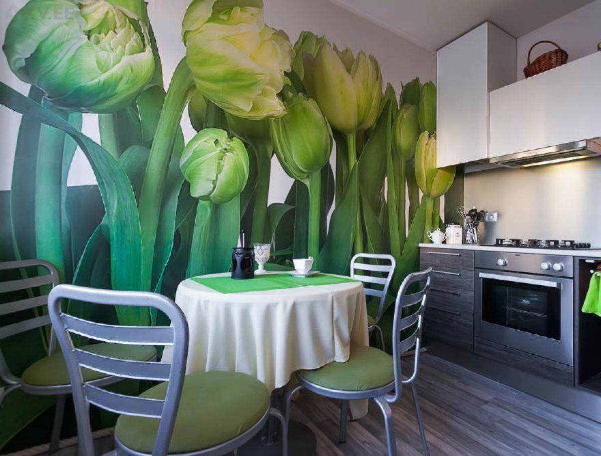 Зеленая кухня 7778