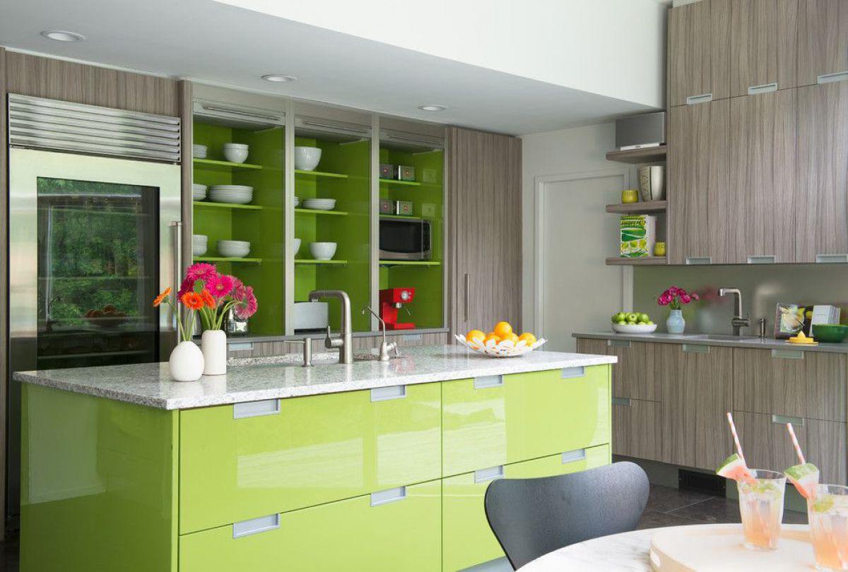 Зеленая кухня 7781
