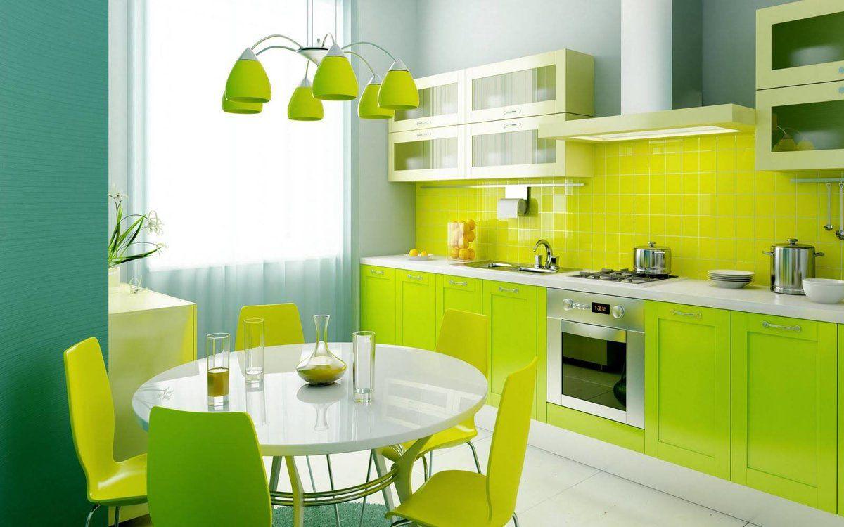 Зеленая кухня 7782