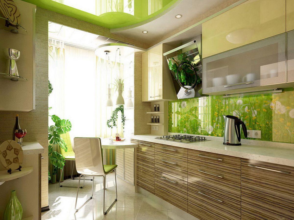 Зеленая кухня 7783