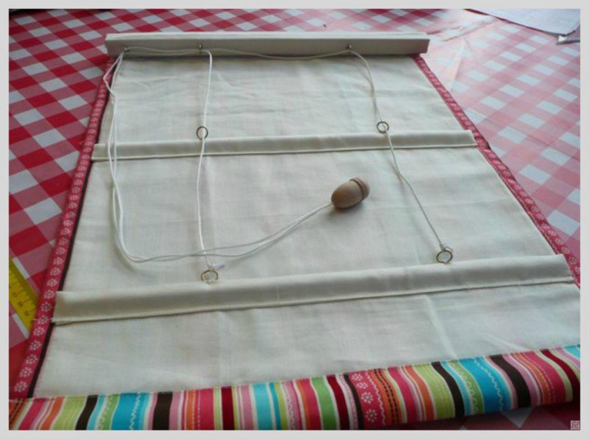 Римские шторы своими руками 7899