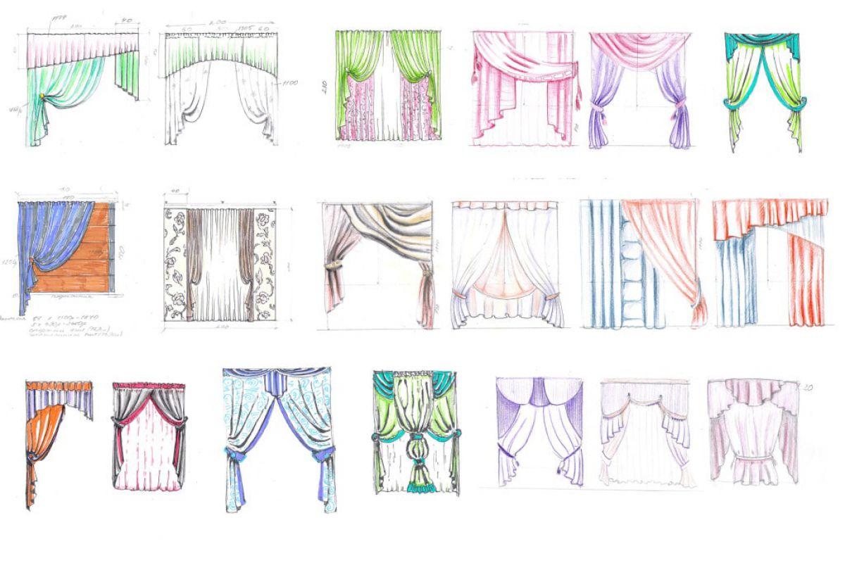 Как сделать шторы своими руками 7907