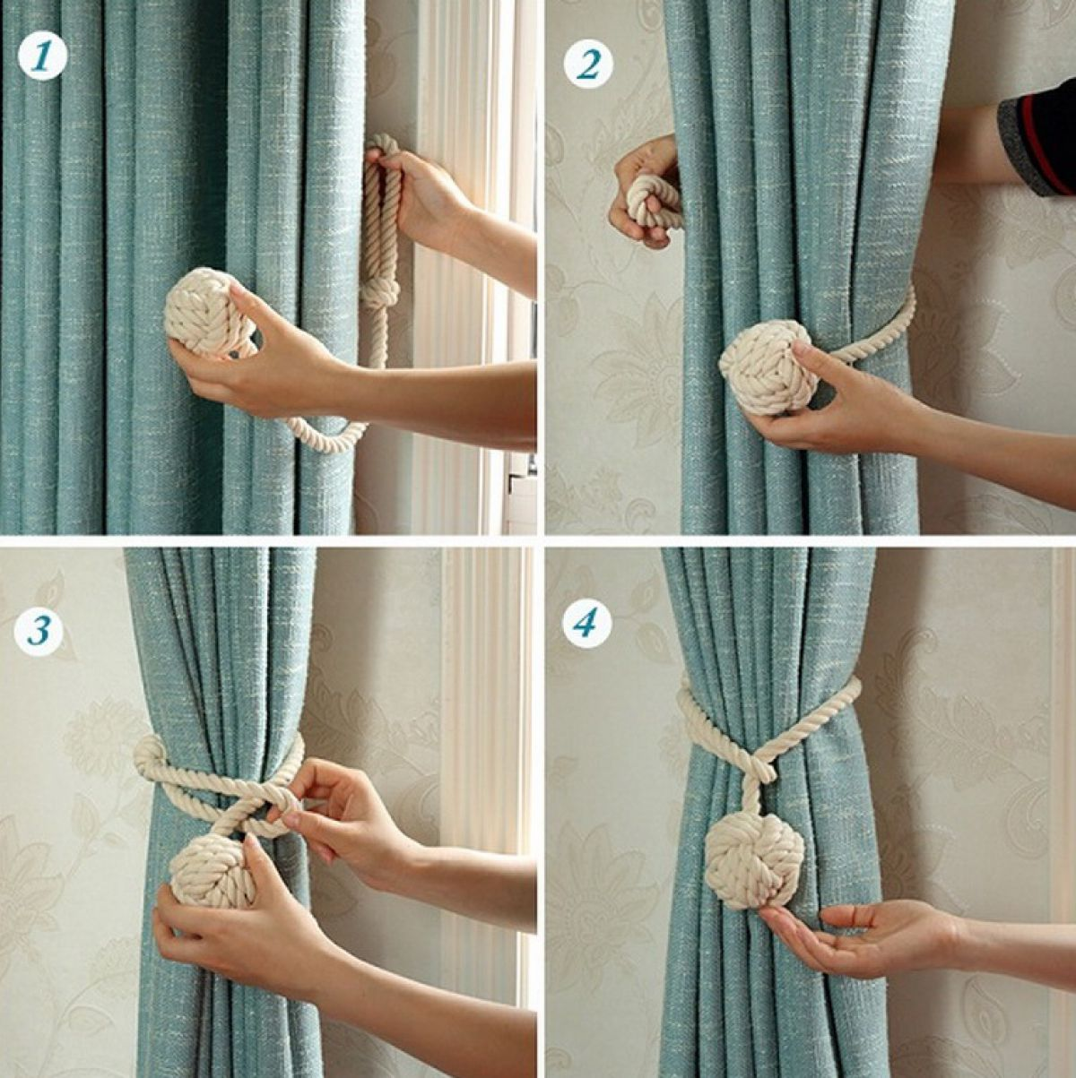 Как сделать шторы своими руками 7909