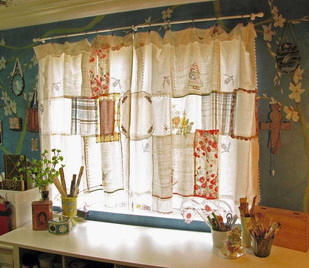 Как сделать шторы своими руками 7911