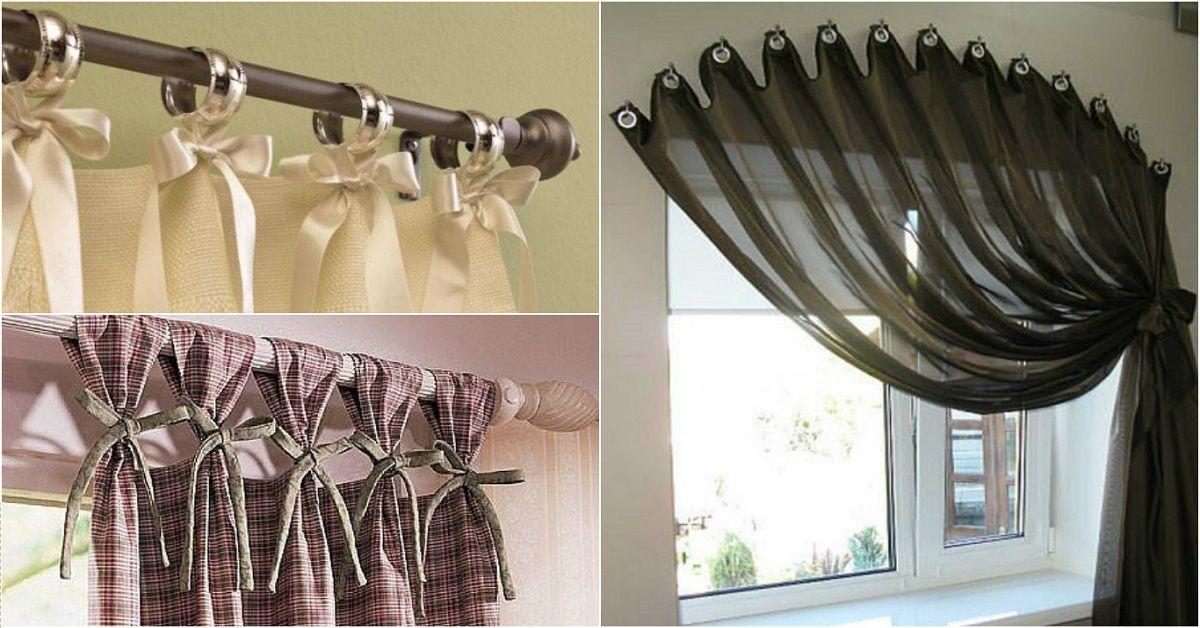Как сделать шторы своими руками 7912