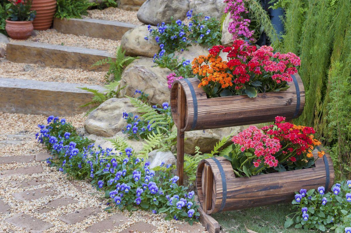 роскошь оформление цветочных клумб своими руками фото после расставания любимым