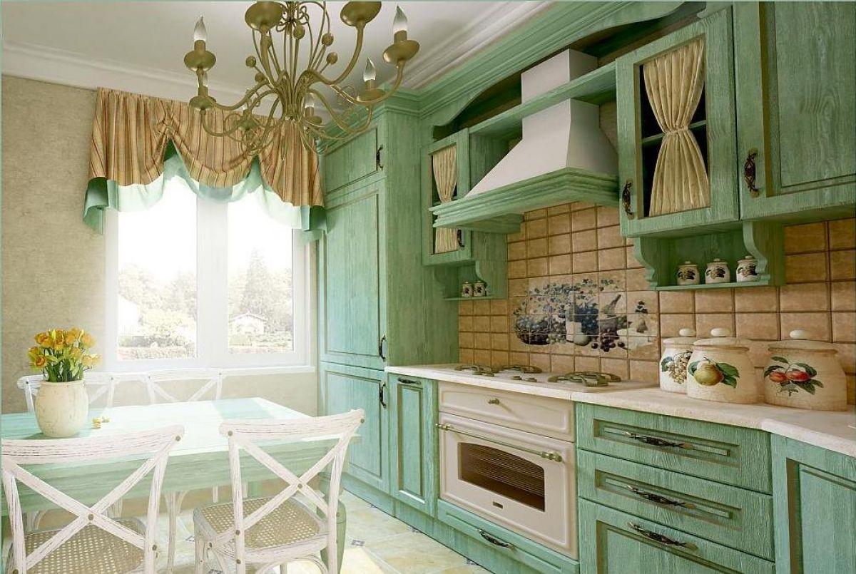 своим интерьер кухни в стиле прованс фото картинки перед тем