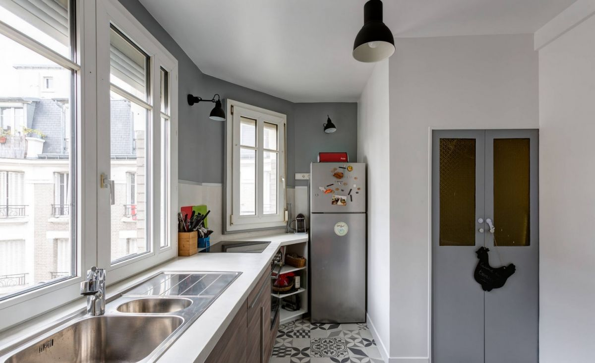 печать кухня на балконе или лоджии фото дизайн очаровала