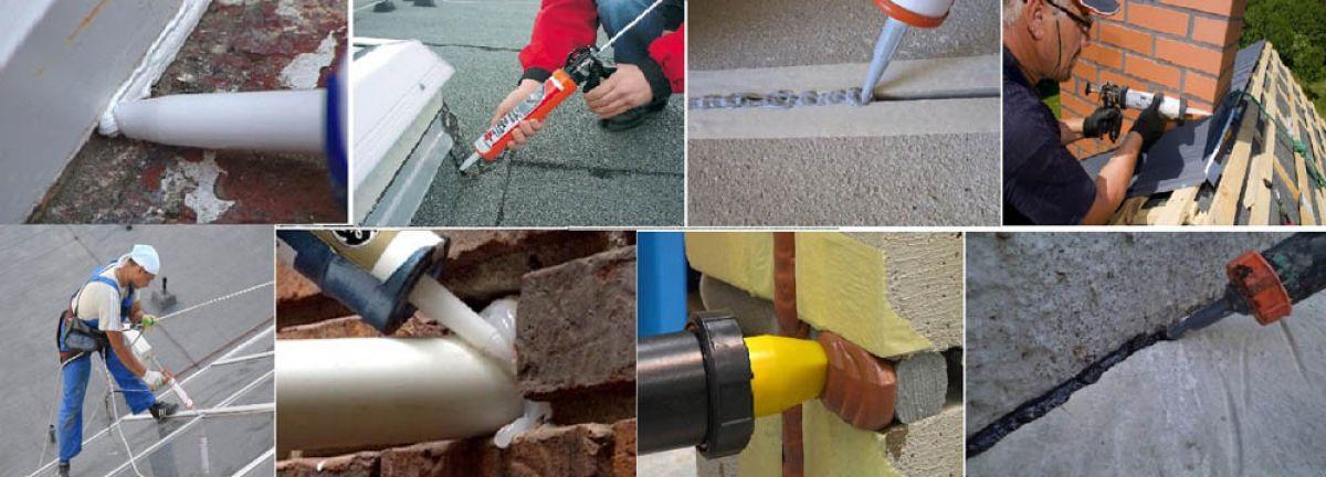 герметизация бетон