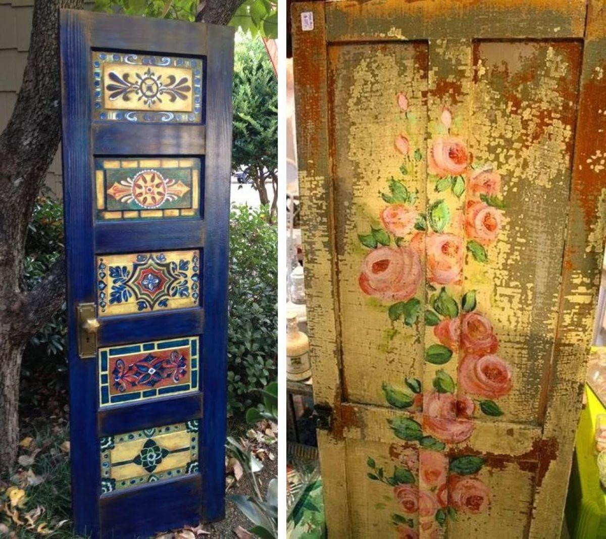 москве как сделать старые двери красивыми фото дом
