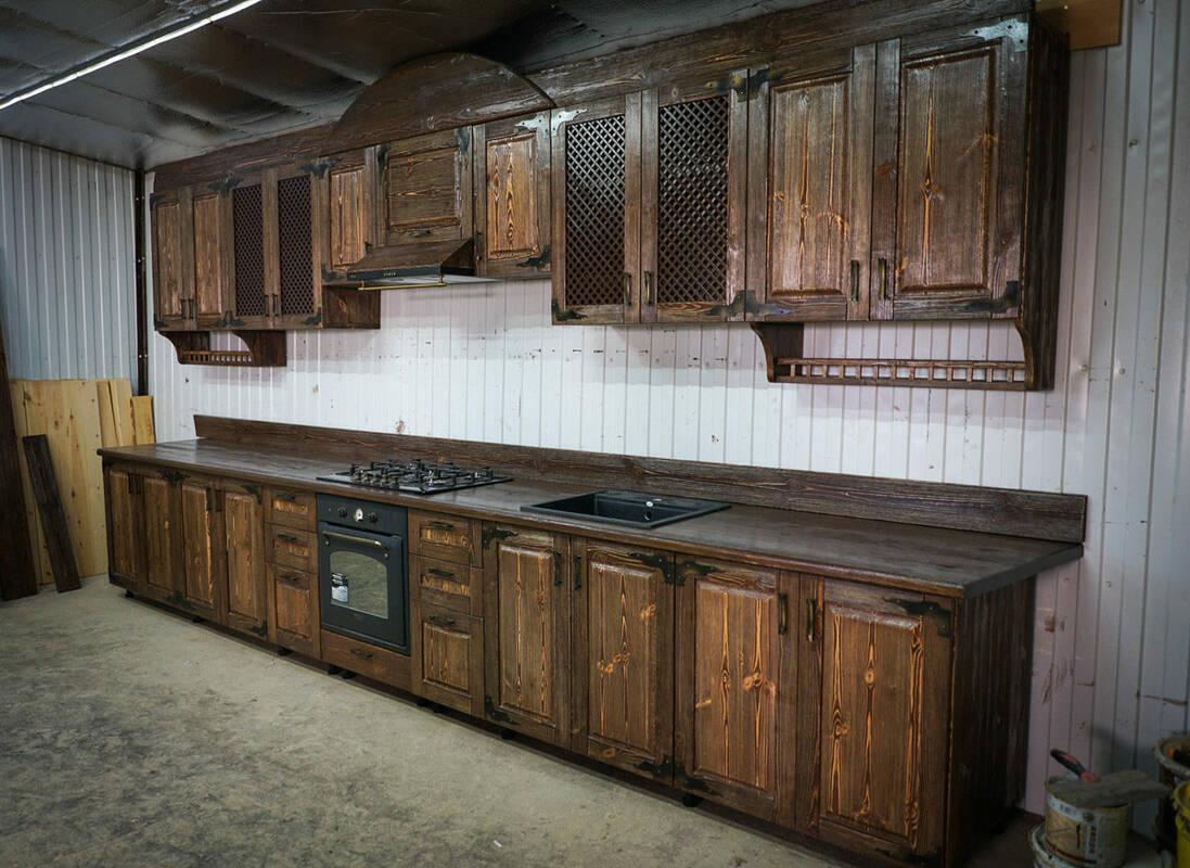 Кухня под старину 12142