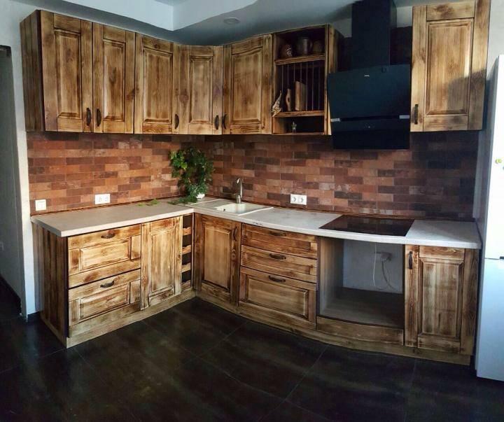 Кухня под старину 12148