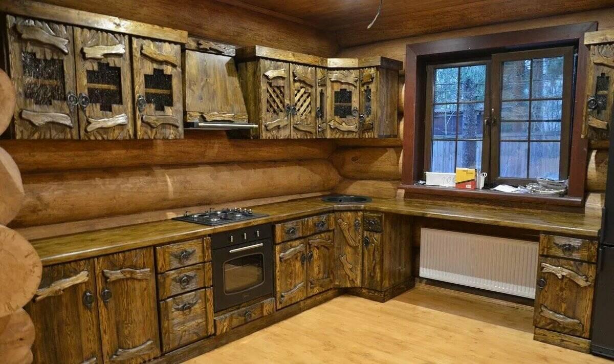 Кухня под старину 12156