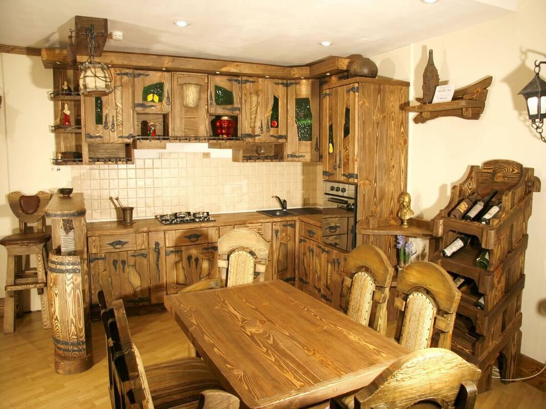 Кухня под старину 12157