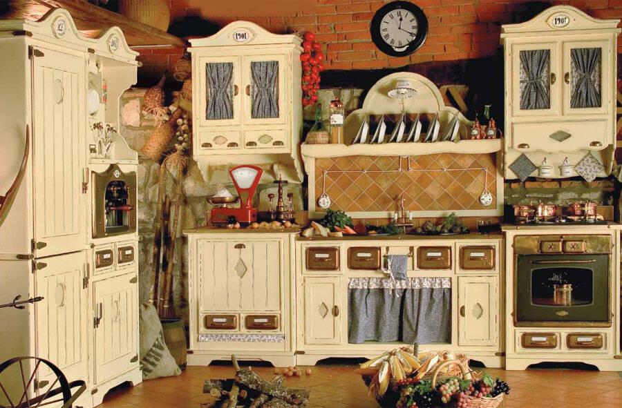 Кухня под старину 12158