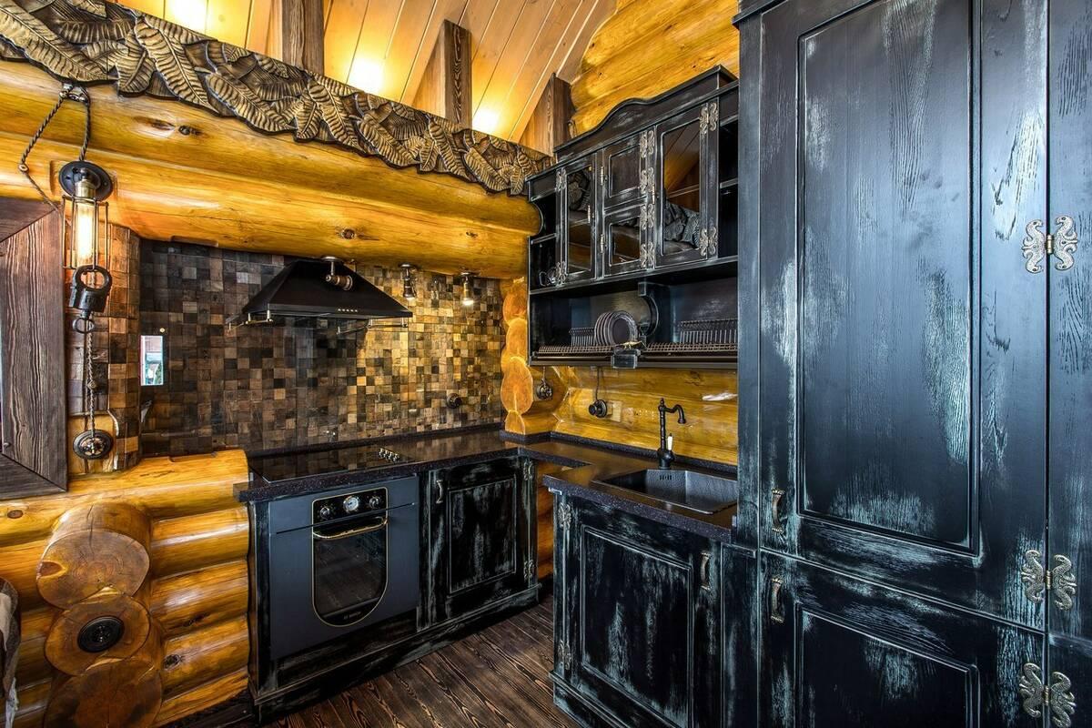 Кухня под старину 12159