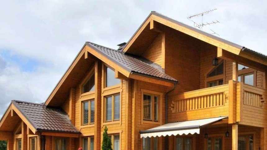 Свесы крыши: способы подшивки
