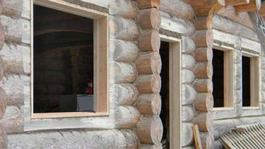 Обсада и окосячка окон и дверных проемов
