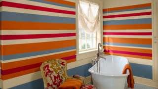 Ванная комната – о красках и покраске стен