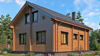 Из чего лучше построить деревянный дом. Бревно или брус, особенности технологий