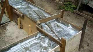 Приготовление бетона для ленточного фундамента - на своем участке. Температура бетонной смеси