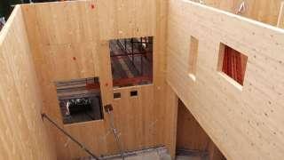 ПСП. Дома из перекрестно -  склеиваемых панелей
