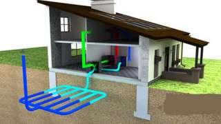 Геотермальная вентиляция для коттеджа