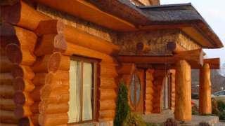 Рубленый дом из больших бревен. Немного о правилах рубки правильного сруба