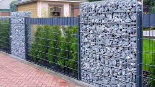 Габион – как ограждение, забор и подпорная стенка