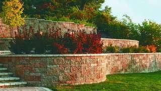 Подпорная стенка для участка с крутым рельефом. Виды подпорных стенок